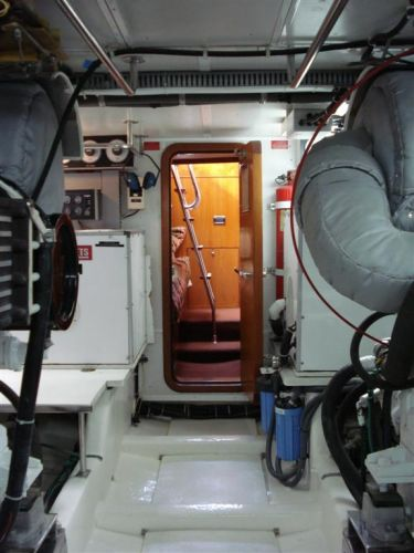 Trawler Engine Room: New And Brokerage MotorYacht's
