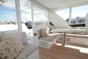 66' Symbol Pilothouse Enclosed Flybridge - Air Conditioned