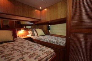 66' Symbol Pilothouse  3rd Cabin