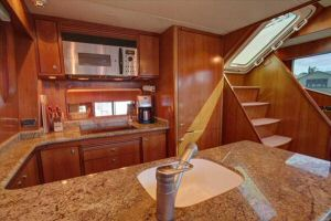 66' Symbol Pilothouse  Galley Aft