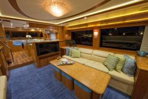 85' Symbol Yachtfisher 2010 Main Salon